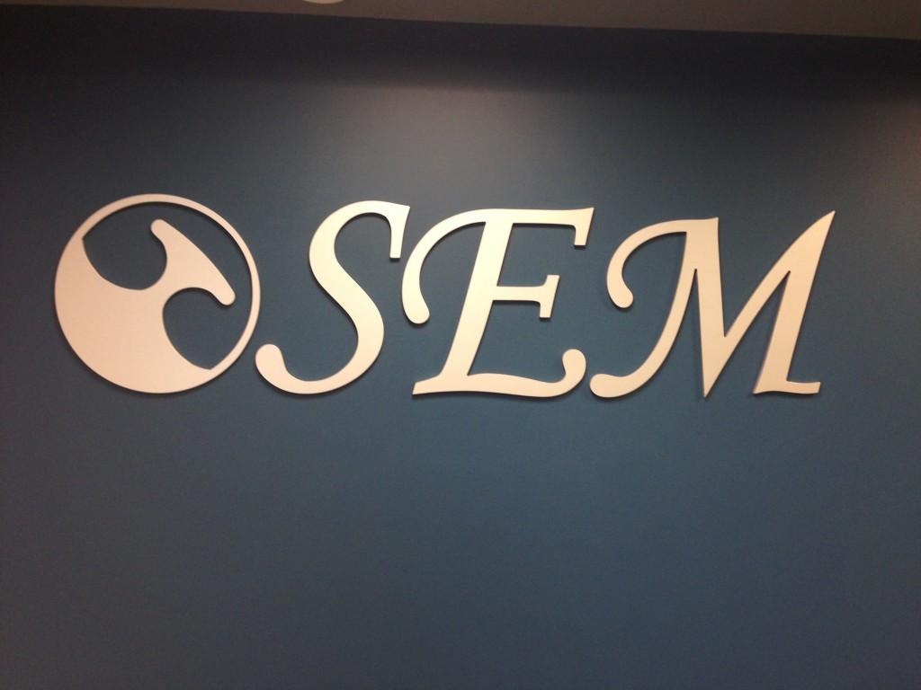3d mounted letters