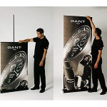 Pop-up banner stand