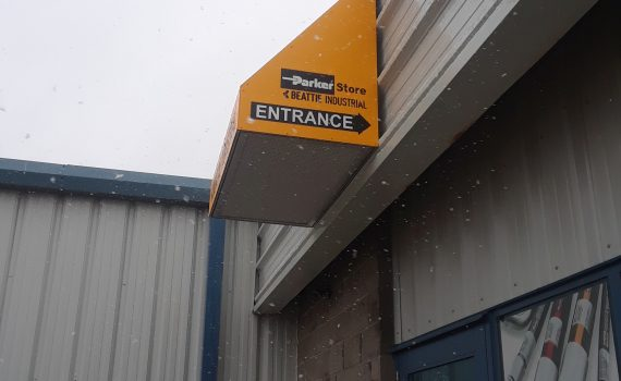 Parker Store awning